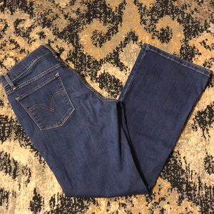 3/$22 Sz 8 Levi 515 Boot Cut Denim Pants Jeans